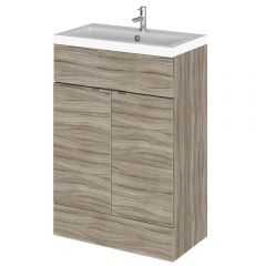 Meuble-lavabo wengé 60 x 86.4 x 35.5cm