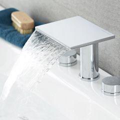Mélangeur lavabo ou baignoire Cascade