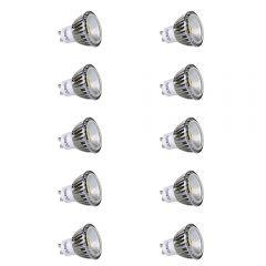 Lot de 10 Ampoules spot LED Dimmables 5W GU10