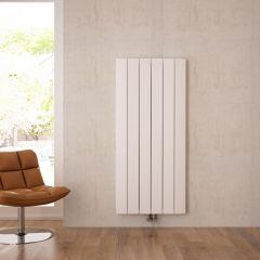 Radiateur Design Vertical Raccordement Central Aluminium Blanc Aurora 160cm x 56,5cm x 4,5cm 2042 Watts