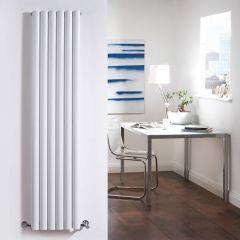 Radiateur Design Vertical Blanc Vitality 160cm x 35,4cm x 7,8cm 1228 Watts