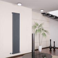Radiateur Design Vertical Anthracite Savy 160cm x 35,4cm x 8,1cm 958 Watts