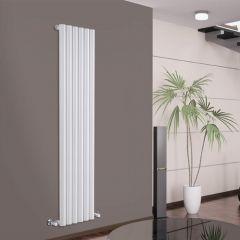 Radiateur Design Vertical Blanc Savy 160cm x 35,4cm x 8,1cm 958 Watts