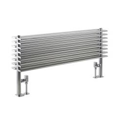 Radiateur Design Horizontal Argent Parallel 50,4cm x 100cm x 14,6cm 1016 Watts