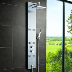 Colonne de Douche Thermostatique Hydromassante Easton