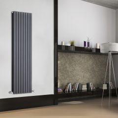 Radiateur Design Vertical Anthracite Sloane 160cm x 47,2cm x 7,2cm 1591 Watts