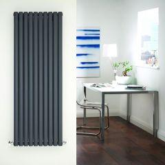 Radiateur Design Vertical Anthracite Vitality 160cm x 59cm x 7,8cm 2047 Watts