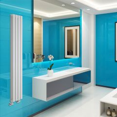 Radiateur Design Vertical Blanc Vitality 160cm x 23,6cm x 7,8cm 819 Watts
