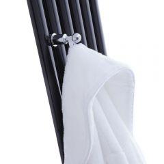 Patère crochet porte-serviettes ou peignoir pour Radiateur Vitality