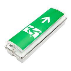 Biard Bloc sortie de secours LED allumage continu ou d'urgence - droite