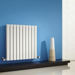 Radiateur Design Horizontal Blanc Sloane 63,5cm x 60cm x 7,1cm 934 Watts