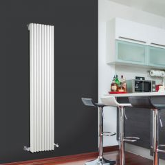 Radiateur Design Vertical Blanc Parallel 160cm x 34,2cm x 8,4cm 1053 Watts