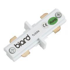 Biard Raccord droit pour rail spot LED Blanc