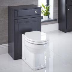 Meuble Coffrage Anthracite pour WC Charlton 81.5x50x30cm