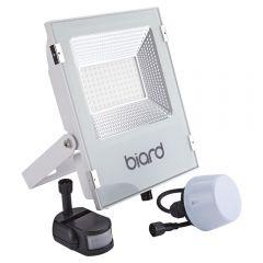 Biard Projecteur LED Blanc 50 Watts avec détecteur IP65