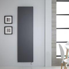 Radiateur vertical Électrique anthracite 180x50cm Rubi
