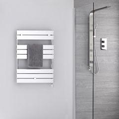 s che serviettes radiateur lectrique design acier chrom peint. Black Bedroom Furniture Sets. Home Design Ideas