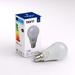 Ampoule Led B22 12W - Lot de 6