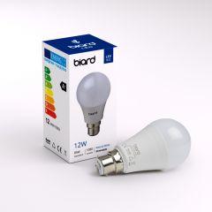 Ampoule Led B22 12W Dimmable - Lot de 6