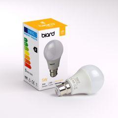 Ampoule Led B22 5W Dimmable - Lot de 6