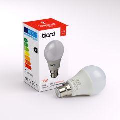 Ampoule Led B22 7W - Lot de 6