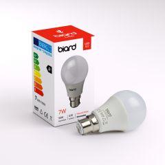 Ampoule Led B22 7W Dimmable - Lot de 6