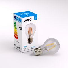 Ampoule LED Filament E27 4W Dimmable - Lot de 6