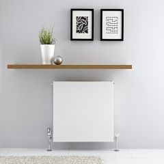 Radiateur horizontal Blanc Type 21 Merus 60 x 60cm 987 watts