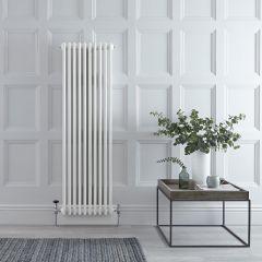 Radiateur Vertical Style Fonte Blanc Windsor 150cm x 47,3cm x 10cm 1734 Watts