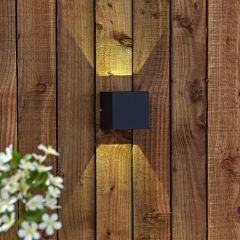 Biard Applique murale extérieure d'angle ajustable Led 6W