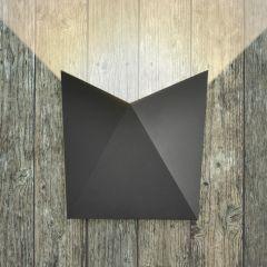 Biard Applique murale extérieure IP54 - LED 7W - Visby Anthracite ou Noir
