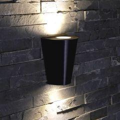 Biard Applique murale extérieure Design Conique Noire