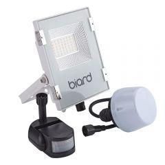 Biard Projecteur LED Blanc 20 Watts avec détecteur IP65