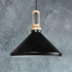 Suspension Noire Ø 35x33cm Orlu