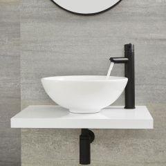 Mitigeur haut lavabo noir - Nox