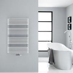 Sèche-serviettes eau chaude blanc Arch 100x60cm 1114 watts