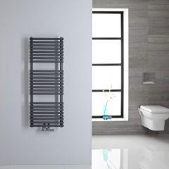Sèche-serviettes eau chaude 106.5x40cm 333 watts Magera Anthracite