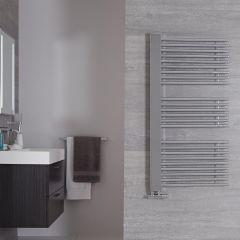 Sèche-serviettes Chromé Bosa - 119cm x 60cm