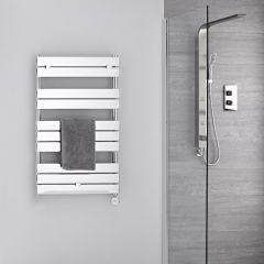 Sèche-serviettes électrique Chromé 100 x 60cm Lustro