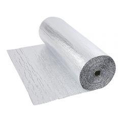 Rouleau isolant aluminium à bulles double épaisseur 10 x 1.2m Ép. 5.5mm