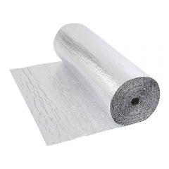 Rouleau isolant aluminium à bulles double épaisseur 25 x 1.2m Ép. 5.5mm