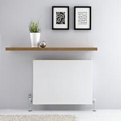 Radiateur horizontal Blanc Type 21 Merus 60 x 80cm 1316 watts