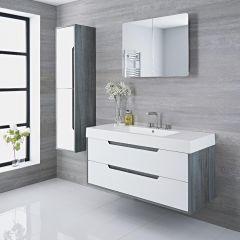 Meuble lavabo 120x50x85cm Newport