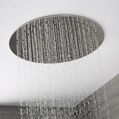 Pommeau de douche encastrable plafond Ø 40cm Tatham