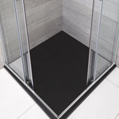 Receveur de douche carré Anthracite 90x90cm