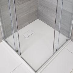 Receveur de douche blanc carré 80x80cm