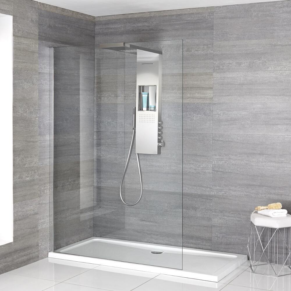 douche italienne  receveur de douche à profil fin