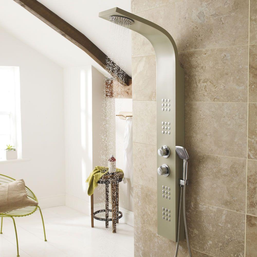 colonne de douche thermostatique pacific. Black Bedroom Furniture Sets. Home Design Ideas