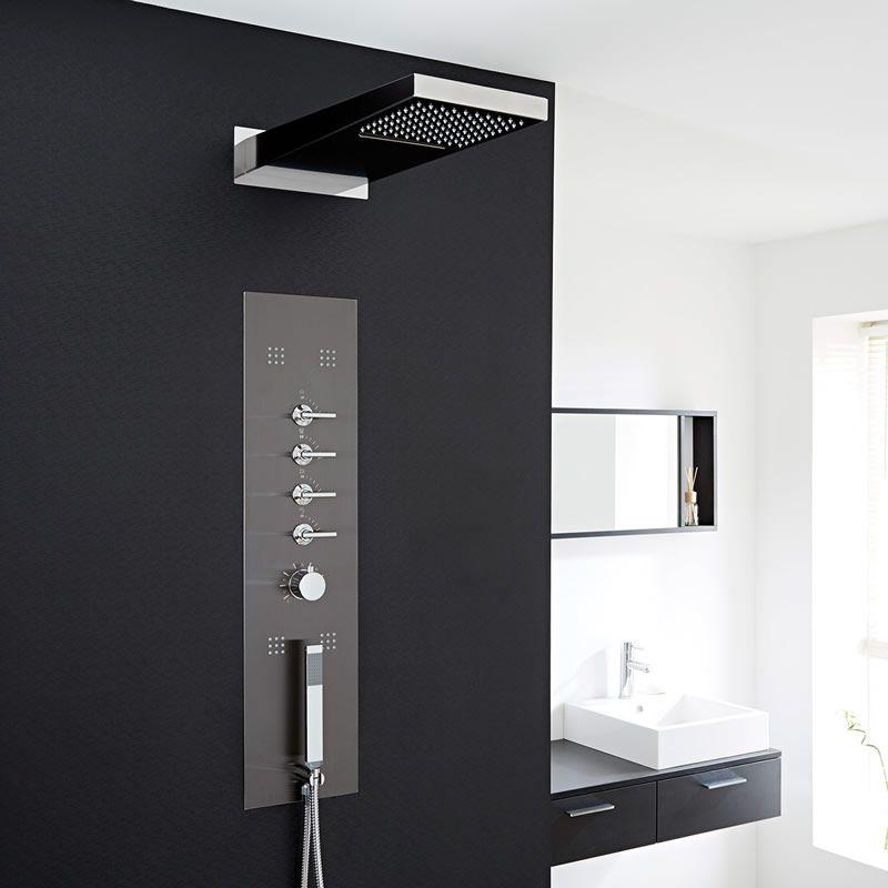 colonne de douche thermostatique oc anie. Black Bedroom Furniture Sets. Home Design Ideas