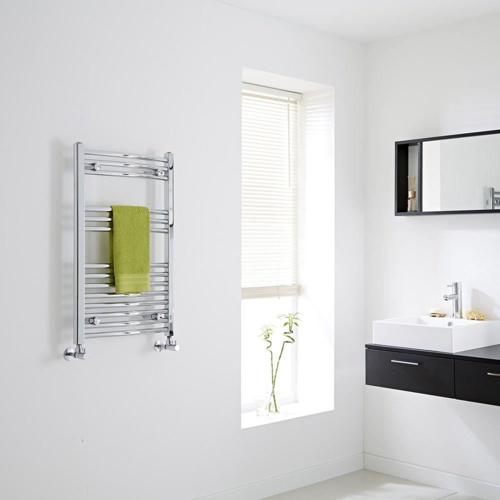 hudson reed s che serviettes incurv chrom ischia 80cm x 50cm x 4 5cm 293 watts. Black Bedroom Furniture Sets. Home Design Ideas